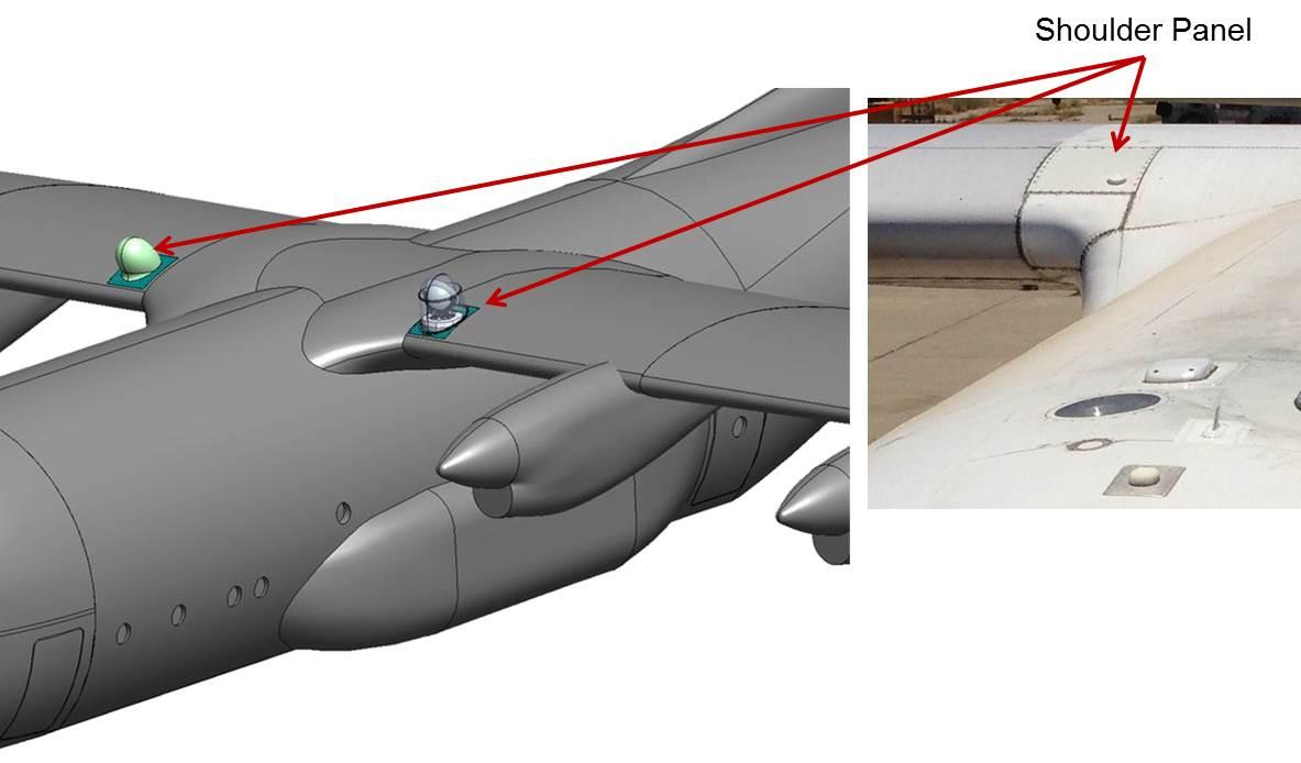 Shoulder Panel Aircraft